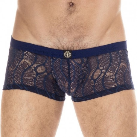 L'Homme invisible Anton Hipster Push Up Boxer - Navy
