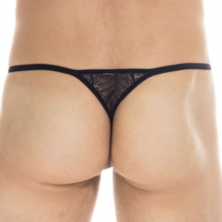 L'Homme invisible Anton Striptease Thong - Black