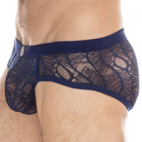L'Homme invisible Anton Push Up Brief - Navy