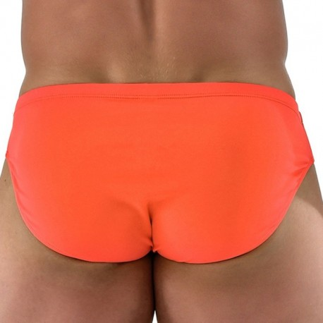 Roberto Lucca Slip de Bain Basic Orange