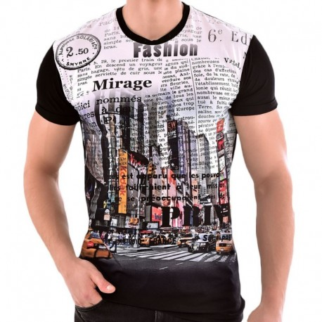 Roberto Lucca Slim Fit T-Shirt - NYC