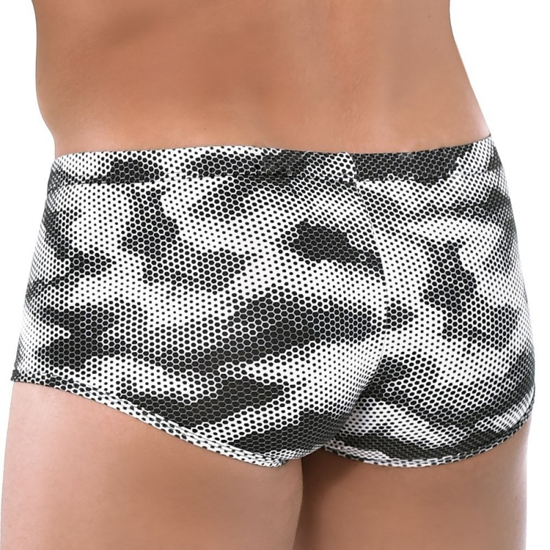 Roberto Lucca Shorty Sporty Camouflage Noir