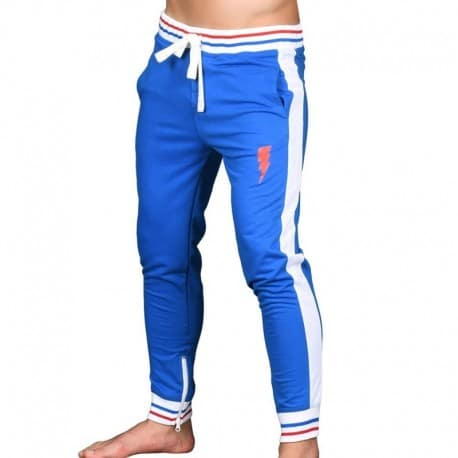 Andrew Christian Pantalon Training Lightning Superhero Royal