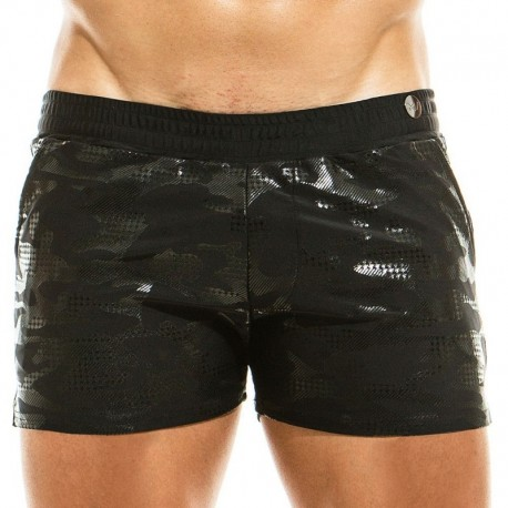 Modus Vivendi Glitter Swim Short - Black