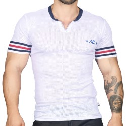 Andrew Christian Superhero Mesh T-Shirt - White