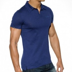 ES Collection Polo Shantung Marine