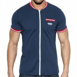 ES Collection Veste Full Zip Mao Marine