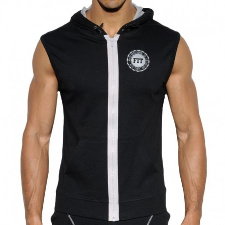 ES Collection FIT Hoody - Black