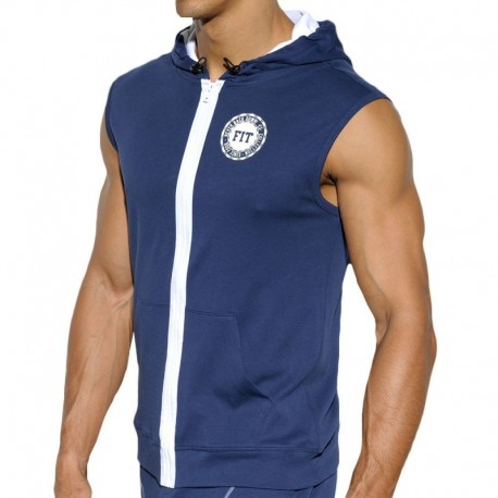 ES Collection FIT Hoody - Navy