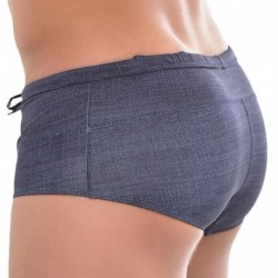 Roberto Lucca Shorty de Bain Jeans Denim