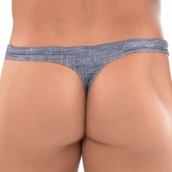 Roberto Lucca Jeans Swim Thong - Light Denim