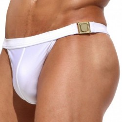 Rufskin Buck Bikini Swim Brief - White