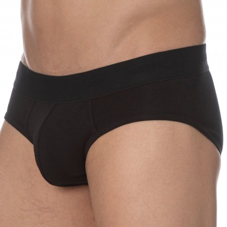 Garçon Français Le Tombeur Brief - Black - Black