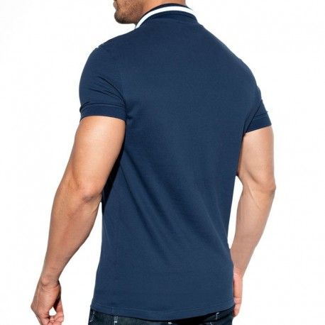 ES Collection Rally Polo Shirt - Navy
