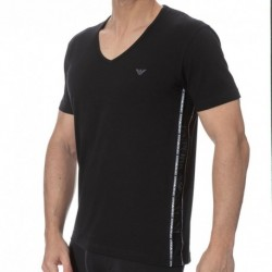 Emporio Armani T-Shirt Color Block Noir