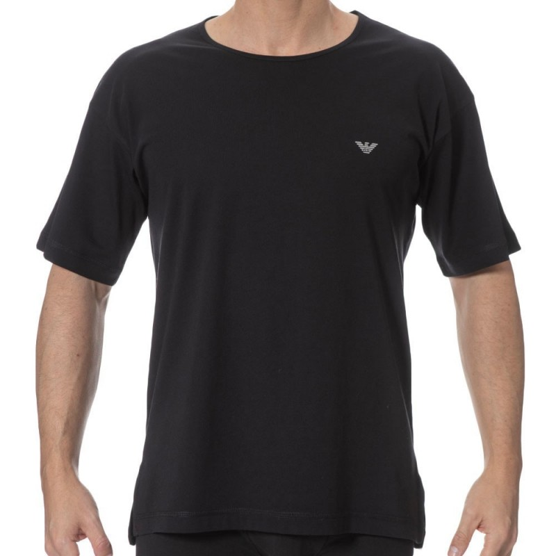 T-Shirt Metal Eagle Noir