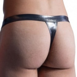 Manstore M861 Tanga Swim Thong - Black