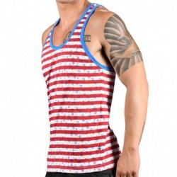 Andrew Christian Stars & Stripes Tank Top