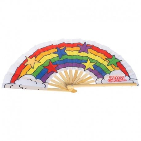 Andrew Christian Pride Clack Fan - Rainbow