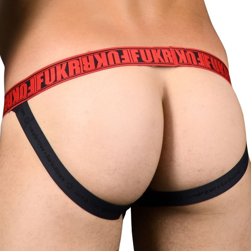 Andrew Christian FUKR Easy Access C-Ring Jock - Black