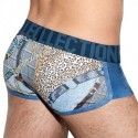 Shorty Wild Print Marine