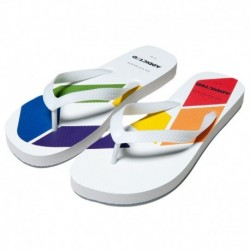 Addicted Tongs AD Rainbow Blanches