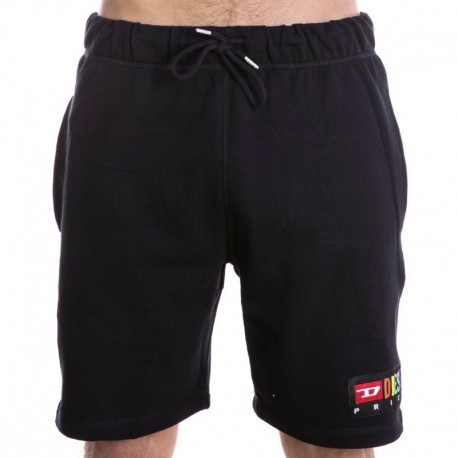 Diesel Rainbow Short - Black