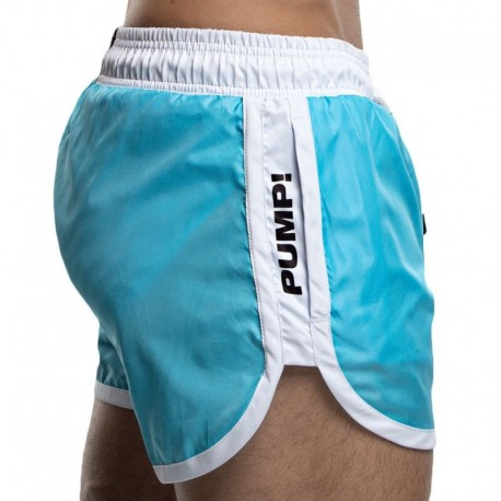 Pump! Watershort Swim Short - Aqua
