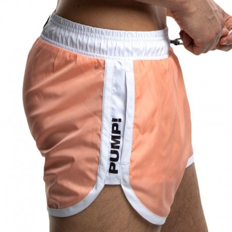 Pump! Watershort Swim Short - Coral