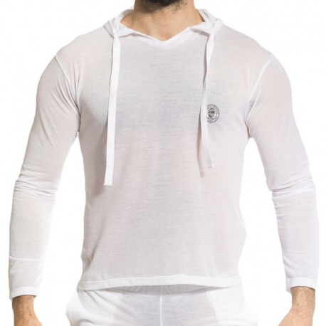 L'Homme invisible T-Shirt Hoody Zephyr Blanc