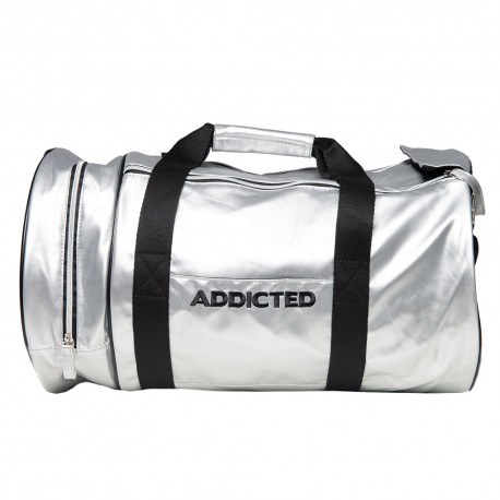 Addicted Gym Bag - Silver