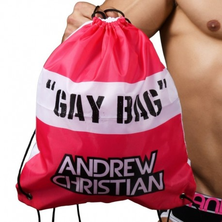 Andrew Christian Gay Bag - Fuchsia