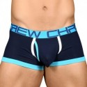 Almost Naked Fly Tagless Boxer - Navy