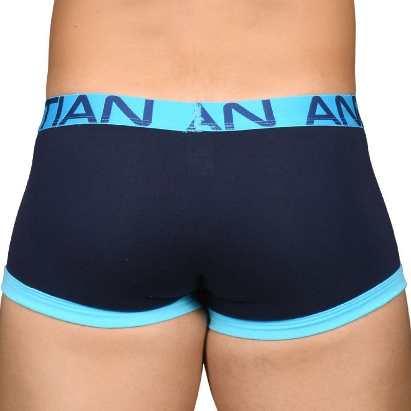 Andrew Christian Almost Naked Fly Tagless Boxer - Navy