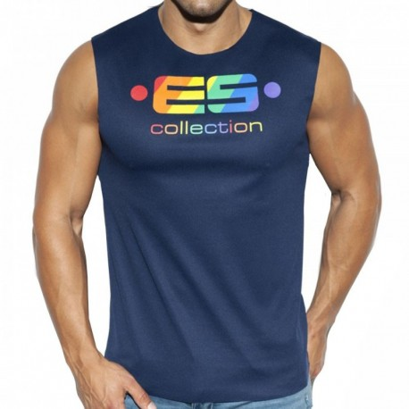 ES Collection Débardeur ES Pride Marine