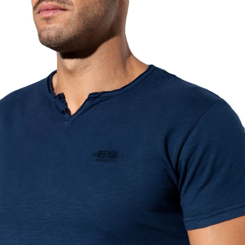 Washed T-Shirt - Navy