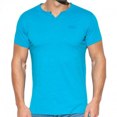 ES Collection Washed T-Shirt - Blue