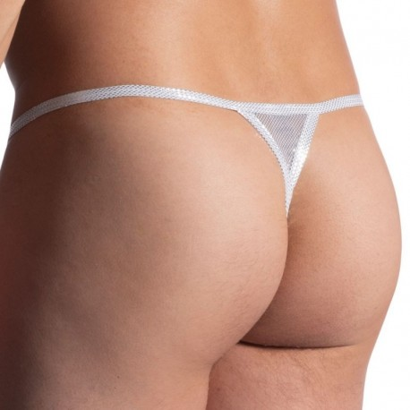 Manstore M907 Stripper Thong - White