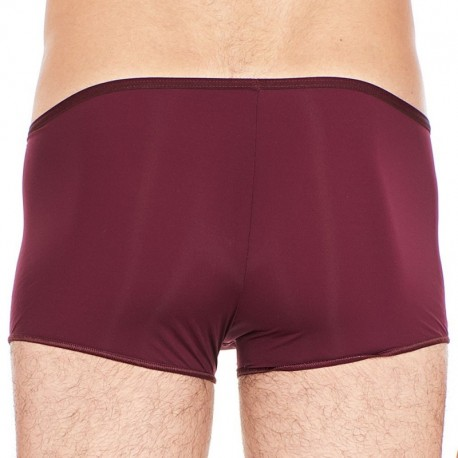 HOM Shorty Temptation Plume Bordeaux