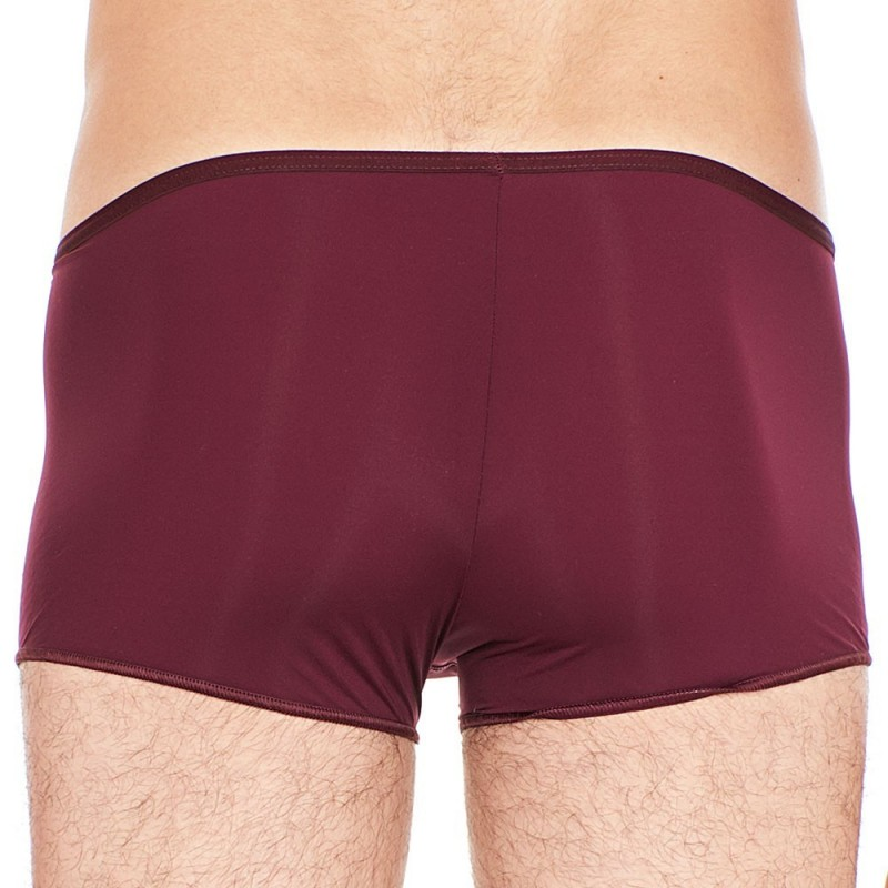 Shorty Temptation Plume Bordeaux