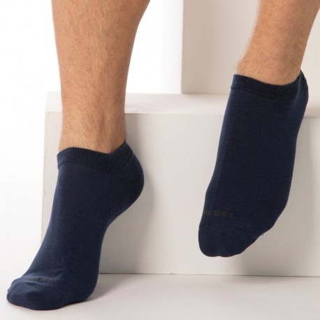 Diesel 3-Pack Mini Socks - Blue
