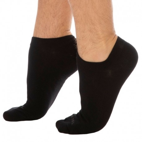 Diesel 3-Pack Mini Socks - Black