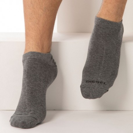 Diesel 3-Pack Mini Socks - Grey