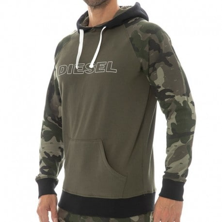 Diesel Sweat-Shirt Camouflage Kaki