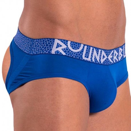 Rounderbum Mykonos Lift Jock Brief - Blue