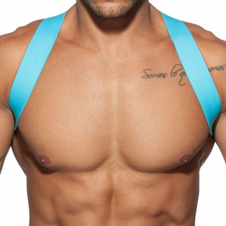 Addicted Spider Harness - Turquoise