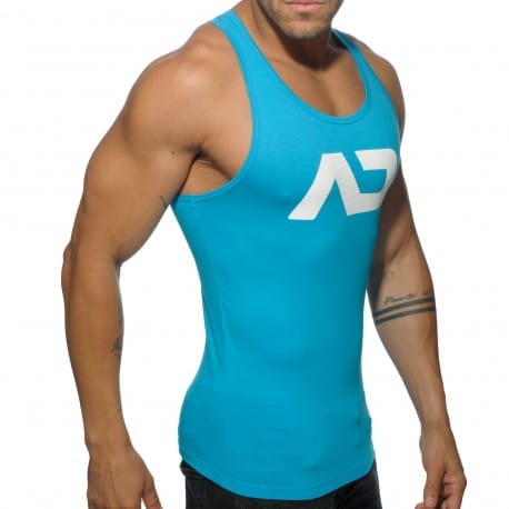 Basic AD Tank Top - Turquoise