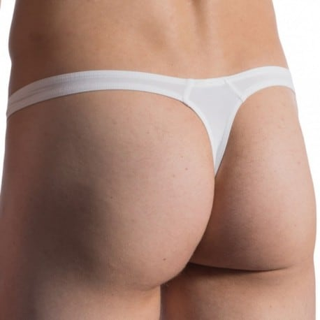 Manstore M800 Tower Thong - White