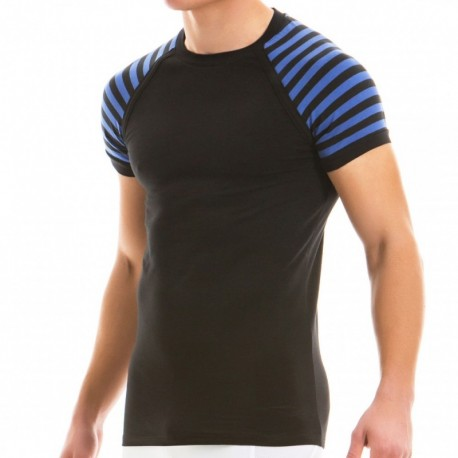 Modus Vivendi Striped T-Shirt - Blue