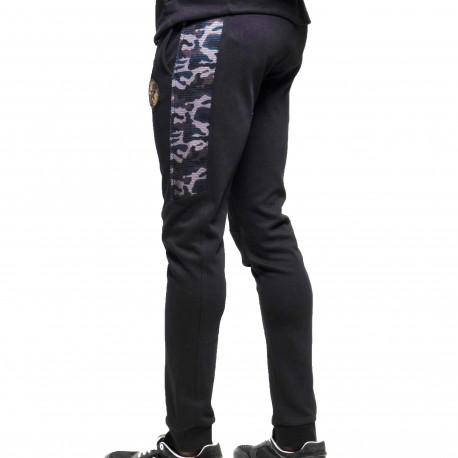 ES Collection Army Padded Sport Pants - Black